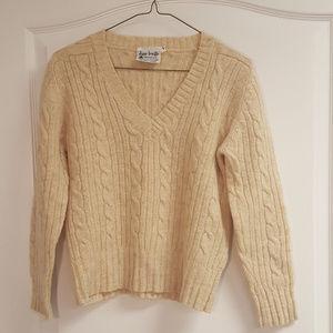 Jane Irwill English Wool Sweater